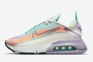 2021 Nike Air Max 2090 Easter CZ1516-500 Sport Shoes