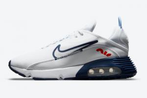 2021 Nike Air Max 2090 White Navy DM2823-100