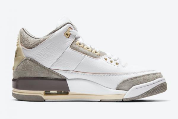 A Ma Maniere x Air Jordan 3 White/Medium Grey-Violet Ore DH3434-110-1