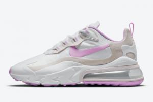 Ladies Nike Air Max 270 React White Light Violet CZ1609-100