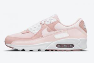 Latest Nike Wmns Air Max 90 Pink Oxford DJ3862-600 Hot Sale
