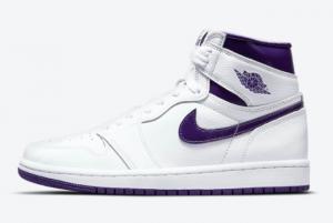 New Air Jordan 1 High OG WMNS Court Purple For Girls CD0461-151