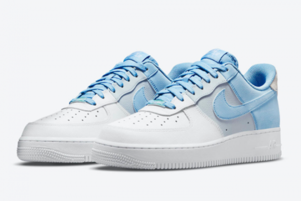 New Nike Air Force 1 Low Psychic Blue CZ0337-400 On Sale-1