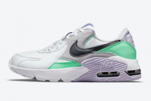 New Nike Air Max Excee White Green Purple CD5432-113 Sale
