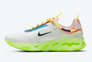 New Nike React Live Barely Volt CV1772-100 On Sale