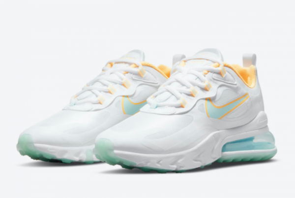 2021 Latest Nike Air Max 270 React Beach DJ3027-100 Hot Sale-2