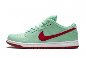 2021 Latest Nike SB Dunk Low Mint Red 304292-360 Casual Shoes