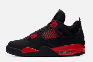 2021 New Release Air Jordan 4 Red Thunder CT8527-016