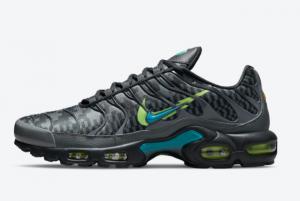2021 New Release Nike Air Max Plus Double-Swoosh Black DJ6896-070