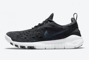 2021 New Release Nike Free Run Trail Black/Anthracite-White CW5814-001