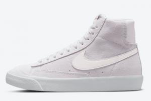 2021 Nike Blazer Mid '77 Suede Light Violet DC8248-500 Lifestyle Shoes
