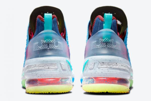 2021 Nike LeBron 18 What The Multicolor DM2813-400 Online Sale-2