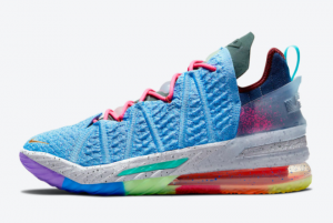 2021 Nike LeBron 18 What The Multicolor DM2813-400 Online Sale