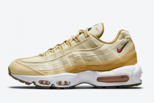 2021 Release Nike Air Max 95 Cork Plant Wheat DC3991-100 Shoes