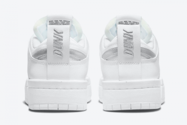 Best Sell Nike Dunk Low Disrupt White Silver DJ6226-100-2