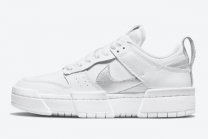 Best Sell Nike Dunk Low Disrupt White Silver DJ6226-100