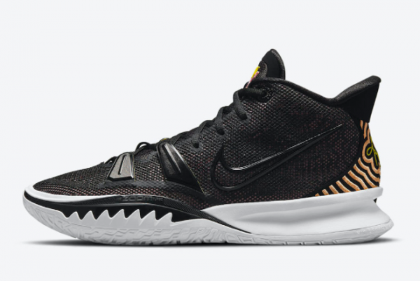 Best Sell Nike Kyrie 7 Ripple Effect Black Pink Yellow CQ9326-005