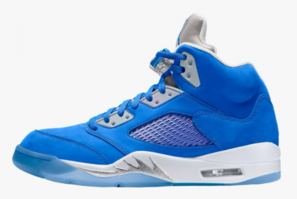 Brand New Air Jordan 5 Bluebird Basketball Shoes On Sale DD9336-400