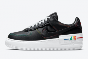 Brand New Nike Air Force 1 Shadow Multi Stitch DJ5998-001 Outlet Online