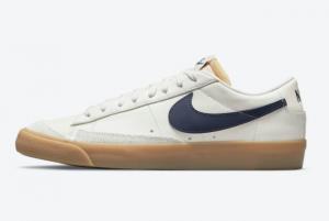 Brand New Nike Blazer Low Cream/Navy-Gum DM8334-100 For Sale