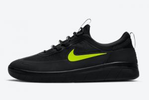 Discount Nike SB Nyjah Free 2 Black Cyber BV2078-005