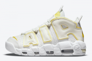 Fashion Nike Air More Uptempo Light Citron White Yellow DM3035-100 Outlet Shoes