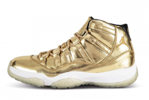 High Quality Air Jordan 11 Retro Metallic Gold Shoes For Men