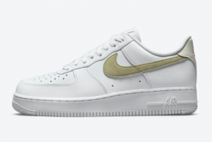 Hot Sell Nike Air Force 1 Low White/Olive-Pink DM2876-100