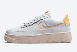 Latest Nike Air Force 1 Pixel Arctic Orange Lifestyle Shoes DM3054-100