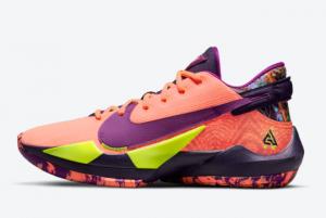 Latest Nike Zoom Freak 2 Bright Mango CW3162-800 For Sale