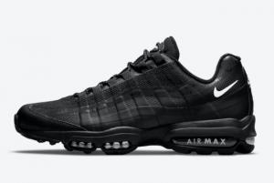 New Nike Air Max 95 Ultra Black/White Sport Shoes DM2815-001