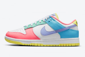 New Nike Dunk Low WMNS Easter DD1872-100 Women's Sneakers