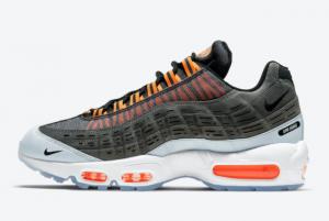New Release Kim Jones x Nike Air Max 95 Black Total Orange DD1871-001