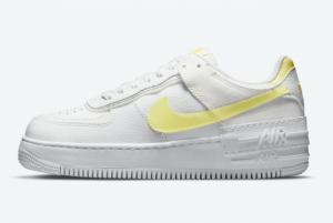 New Sale Nike Air Force 1 Shadow White Yellow DM3034-100 Shoes