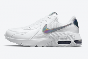 New Style Nike Air Max Excee White Iridescent Shoes DJ6001-100