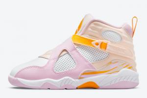 Newest Air Jordan 8 GS Arctic Punch 580529-816 Running Shoes