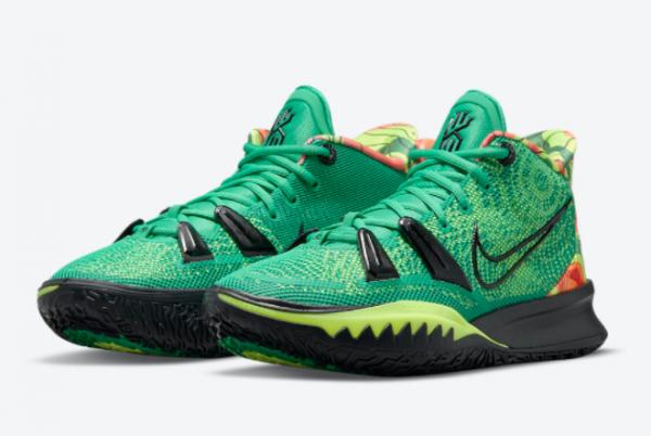 Newest Nike Kyrie 7 Weatherman CQ9327-300 Basketball Shoes-3