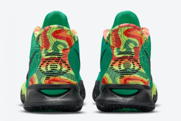 Newest Nike Kyrie 7 Weatherman CQ9327-300 Basketball Shoes-2