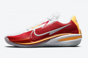 Newest Nike Zoom GT Cut White Red CZ0176-100 For Sale Online
