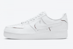 Nike Air Force 1/1 White/Red DC9895-100 For Sale