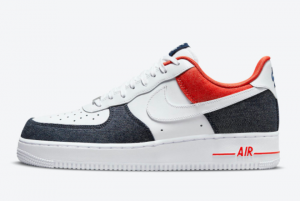 Nike Air Force 1 Low USA Denim DJ5174-100 Online Sale