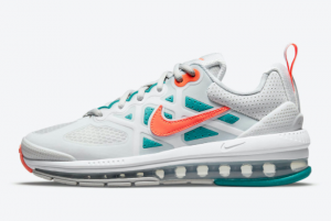 Nike Air Max Genome White Mango Turquoise CZ1645-001 New Style Shoes