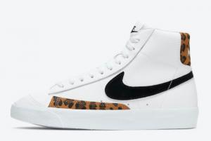 Nike Blazer Mid '77 GS White Leopard DJ4603-100 Cheap For Sale