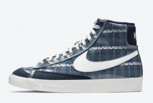 Nike Blazer Mid Midnight Navy DJ4654-410 New Style Shoes