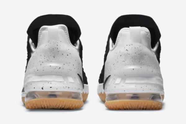 2021 Nike LeBron 18 GS Black Gum CW2760-007 Sport Shoes-2