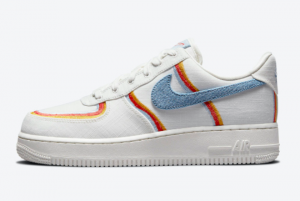 Nike Air Force 1 Low Sail Armory Blue Chili Red DJ4655-133 Online Sale