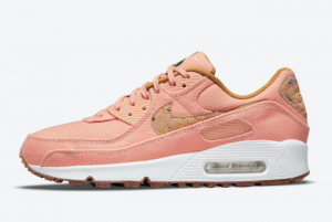 Nike Wmns Air Max 90 Cork Pink New Style Shoes DD0384-800