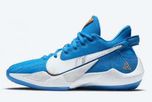 Nike Zoom Freak 2 GS Signal Blue CZ4177-408 For Women