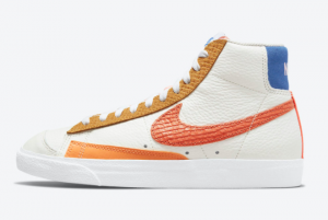 Wholesale Nike Blazer Mid '77 Campfire Orange DM2872-100 Fast shipping