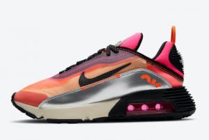 2021 3M x Nike Air Max 2090 Hyper Crimson Pink Blast Light Orewood Brown CW8611-800
